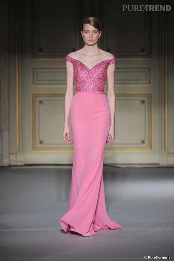 Défilé Haute Couture Georges Hobeika. Paris Printemps-Eté 2013.