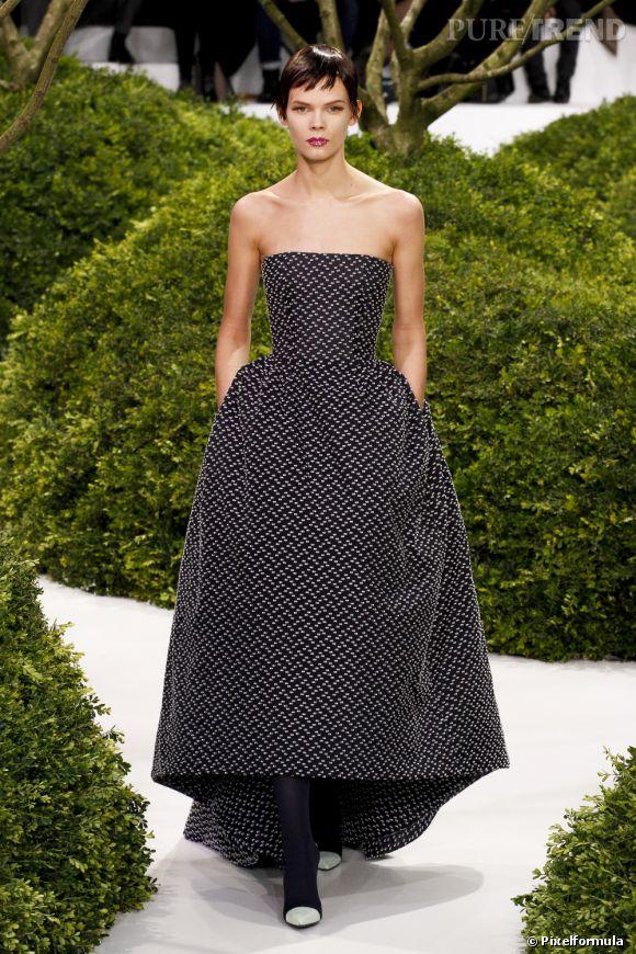 Défilé Haute Couture  Christian Dior  . Paris Printemps-Eté 2013.