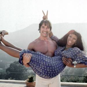 Arnold Schwarzenegger et Donna Summer, collector.