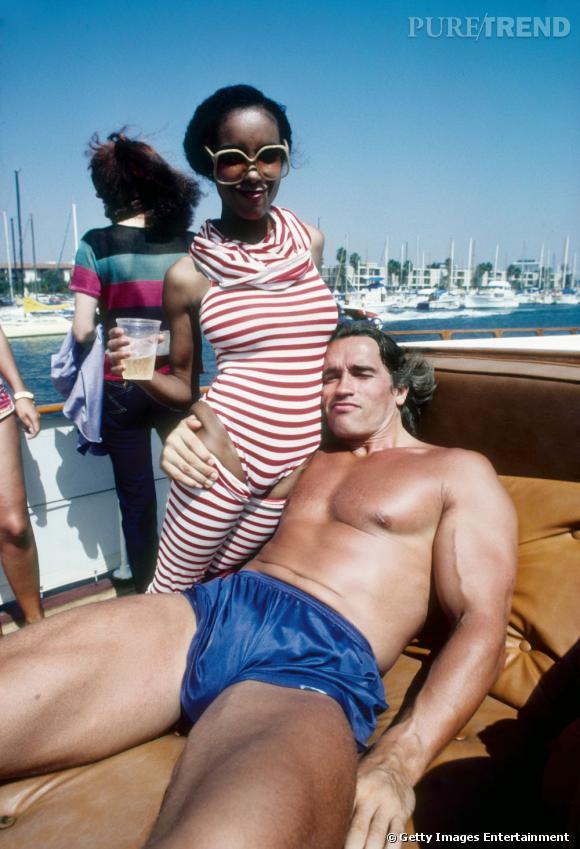 Arnold Schwarzenegger version décontractée.