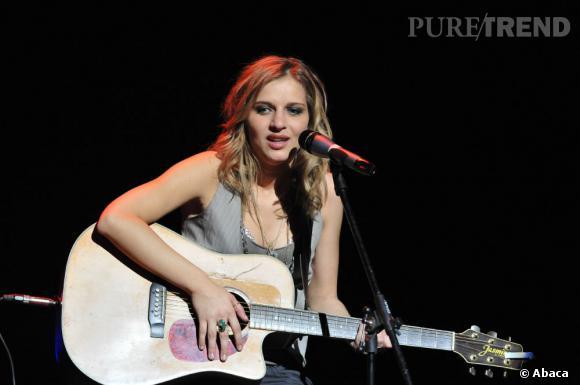 Amandie Bourgeois représentera la France au concours de l'Eurovision en mai prochain.