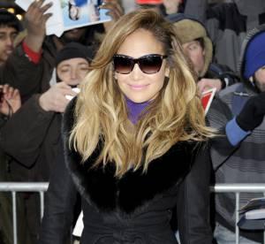 Jennifer Lopez : audace sexy et coloree pour l'emission Good Morning America