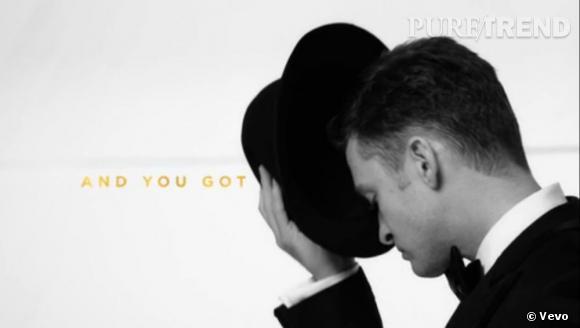 """Justin Timberlake vient de dévoiler son nouveau clip """"Suit and Tie""""."""