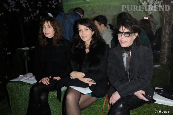 Anne Parillaud, Zabou Breitman et Dani chez Zahia.