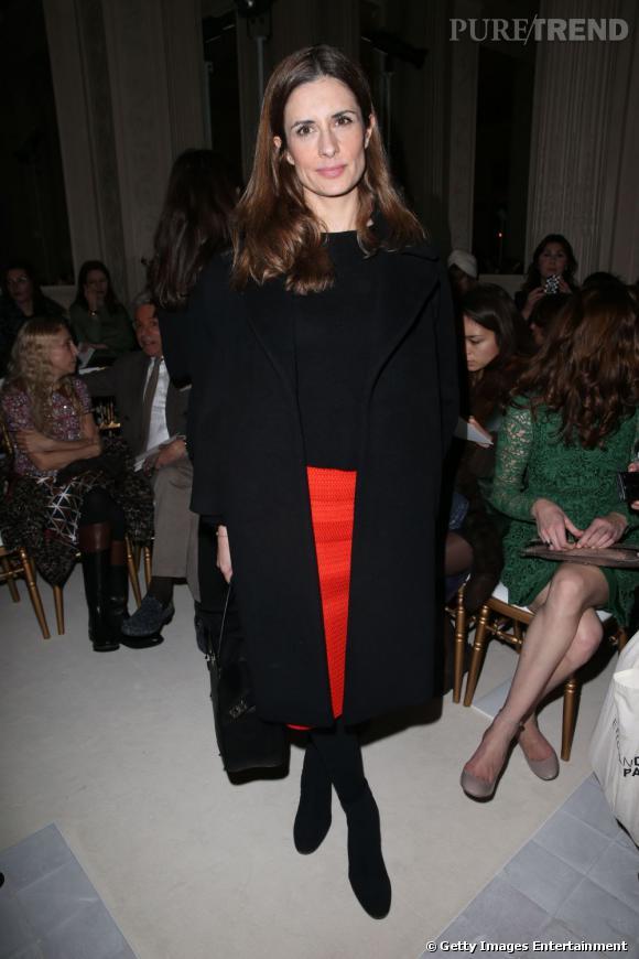 Livia Firth chez Valentino.