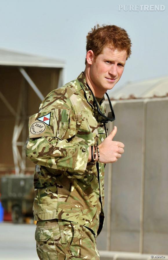Le Prince Harry est bien décidé à profiter de ses cinq semaines de congé...