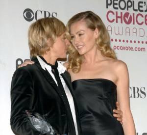 Ellen DeGeneres et Portia De Rossi, mariées depuis 2008.