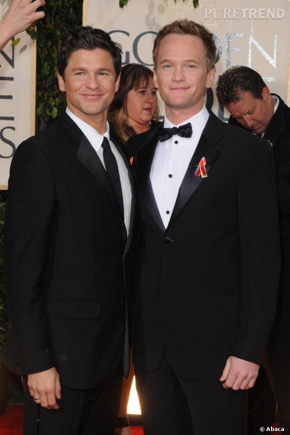Neil Patrick Harris et David Burtka, papas de faux jumeaux.