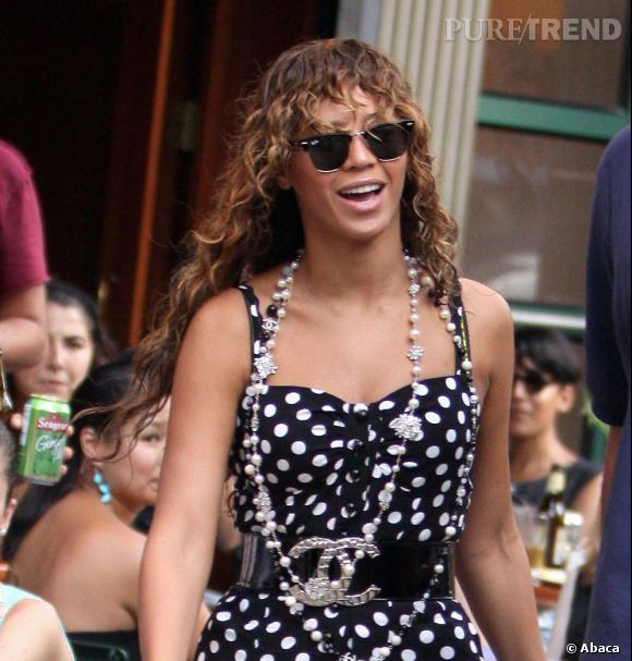 Les bad hair day des stars. Beyoncé, version caniche mouillé.