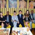 Les Kardashian à l'ouverture du restaurant de Scott Disick à New York. Chez eux la famille c'est sacré.