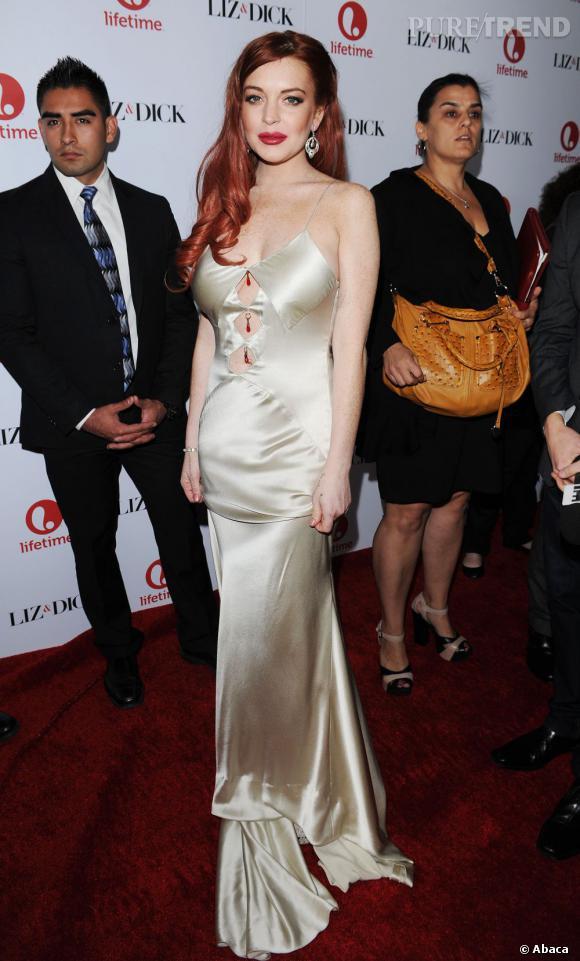 Lindsay Lohan, jugée trop irresponsable par son avocate.