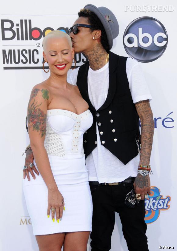 Amber Rose a enfin accouché ! La chanteuse et son fiancé Wiz Khalifa ont accueilli un petit garçon : Sebastian Taylor Thomaz.