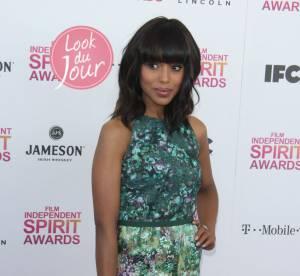 Kerry Washington, l'audace fleurie des Independent Spirit Awards
