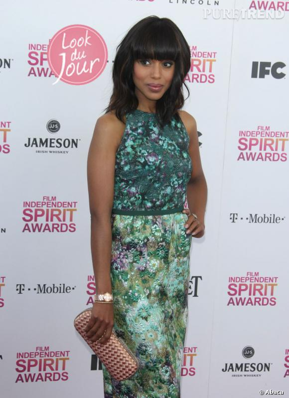 Kerry Washington aux Independent Spirit Awards 2013 à Santa Monica.