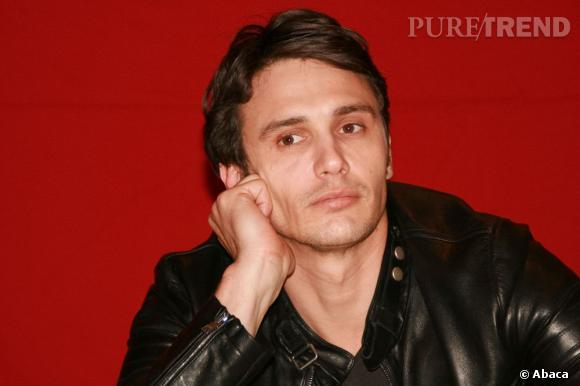 James Franco, beaucoup plus charmant en brun.