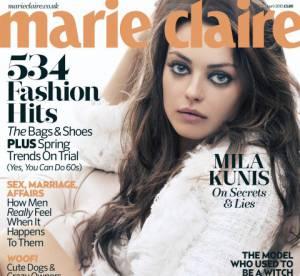 Mila Kunis s'autocensure pour Ashton Kutcher