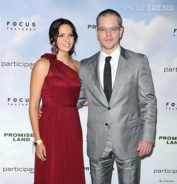 2003 - aujourd'hui : Matt Damon et Luciana Damon vont de nouveau se marier ! Un renouvellement de voeux qui permettra au couple de s'offrir aussi une lune de miel.
