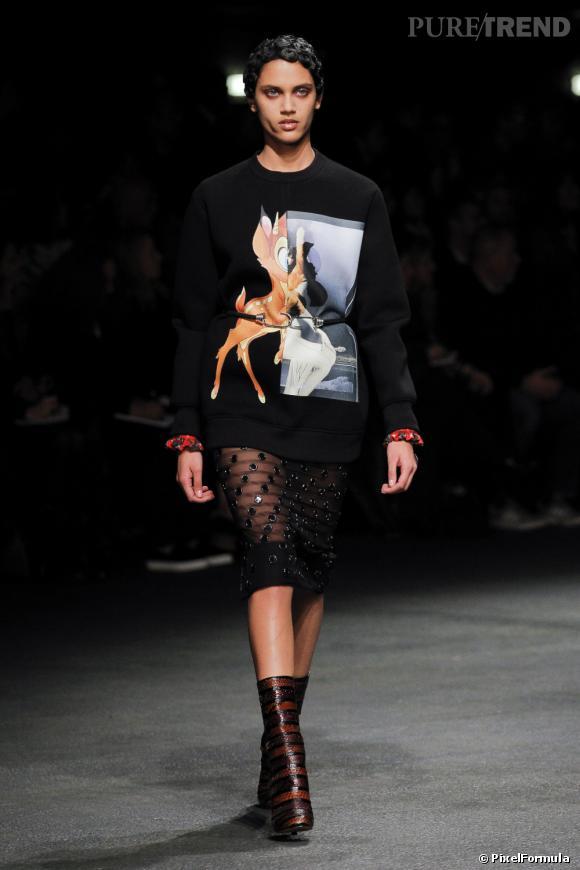 Défilé GivenchyParis Automne-Hiver 2014