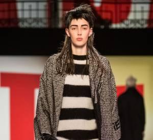 Fashion Week de Paris : Jean Paul Gaultier Salle Wagram, la chaussure criniere de Loewe...