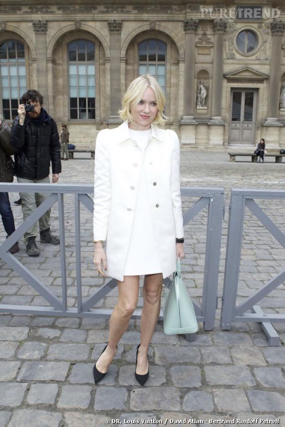 Naomi Watts chez Louis Vuitton.