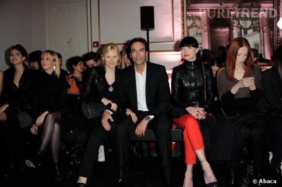 Anthony Delon, Delphine Chanéac et Audrey Fleurot chez Jean-Claude Jitrois.