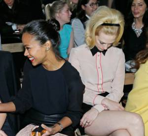 January Jones, le vilain petit canard de la Fashion Week parisienne