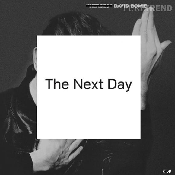 """Pochette de l'album """"The Next Day"""" de David Bowie."""