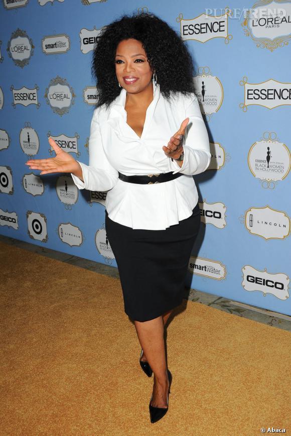 Oprah Winfrey : 48% d'Américains la pensent influente et aiment sa compassion.