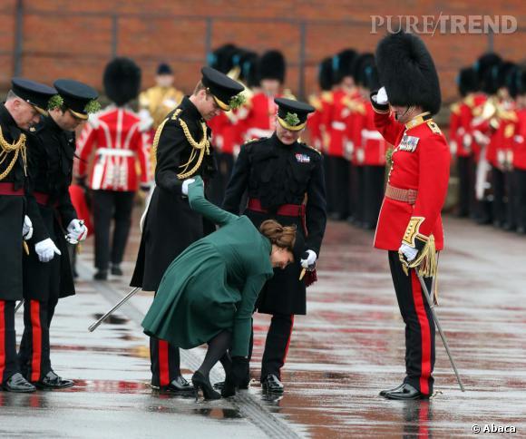 Kate Middleton, une jolie chute pour la Saint Patrick !