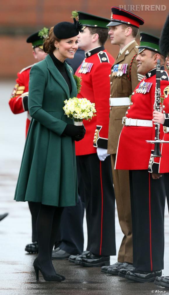 Kate Middleton pour la Saint Patrick sait s'entourer.