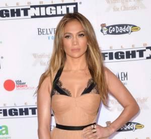 Jennifer Lopez plus nude que jamais pour la Fight Night de Mohamed Ali