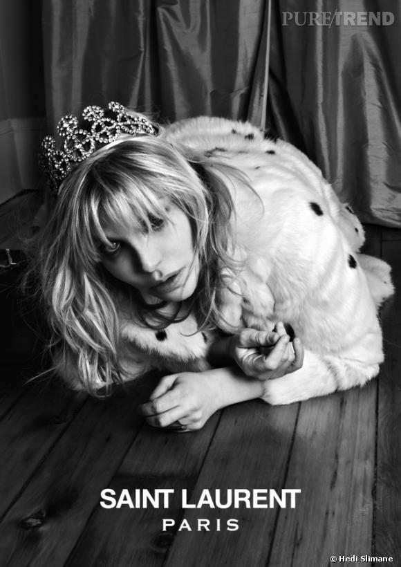 Music Project par Hedi Slimane avec Courtney Love.