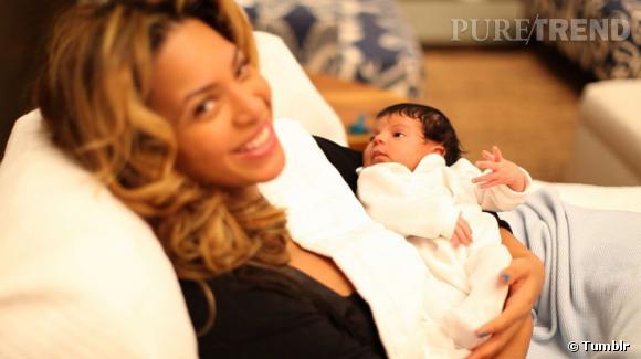 Beyoncé a de la chance de pouvoir garder sa fille près d'elle pendant la tournée...