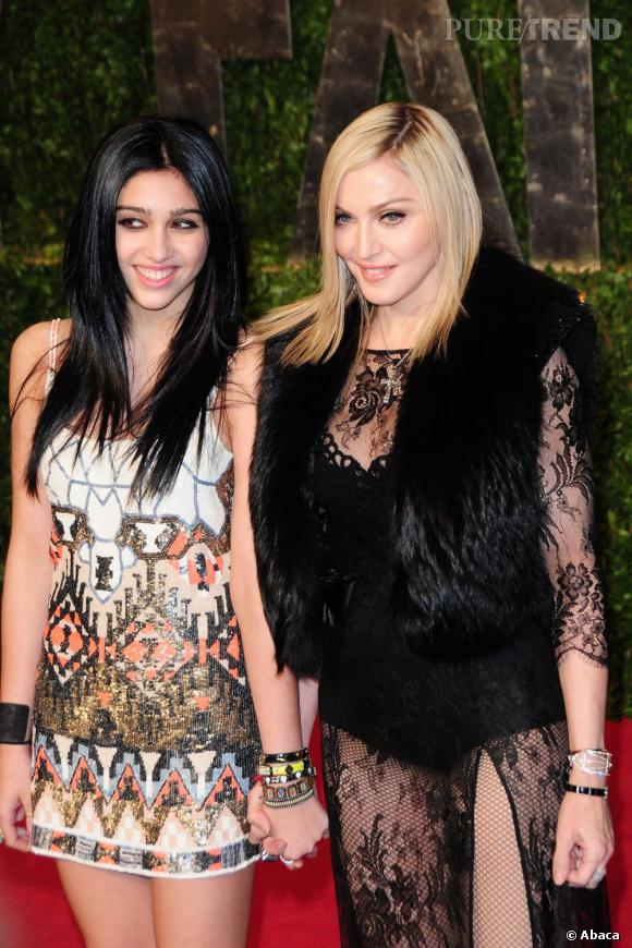 On se demande si Lourdes a déjà présenté son petit ami à sa mère Madonna.