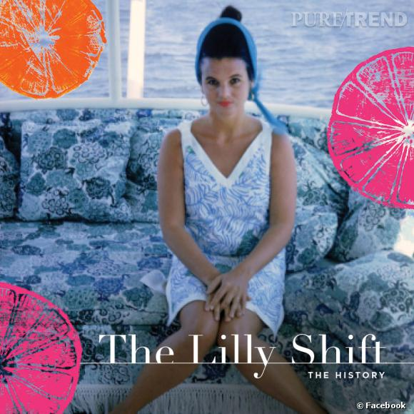"Couverture du livre ""The Lilly Shift"" avec Lilly Pulitzer."