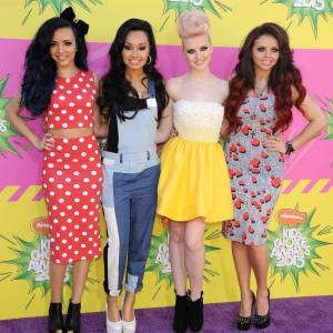 Jade Thirlwall 20 ans, Leigh-Anne Pinnock 21 ans, Perrie Edwards 19 ans et Jesy Nelson 21 ans aux Kids' Choice Awards 2013.