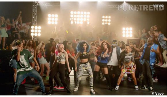"Avec ""How Ya Doing"" les Little Mix livrent un clip punky et girly à leur image."