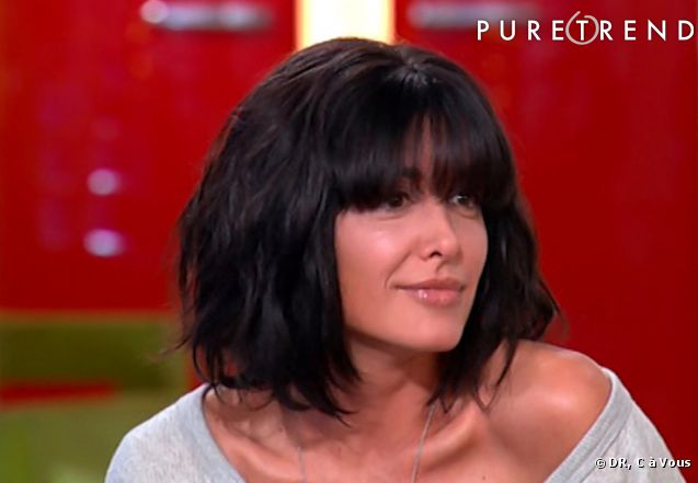 Jenifer la juree de the voice adopte la frange coupe de l 39 annee - Coupe carre frange ...