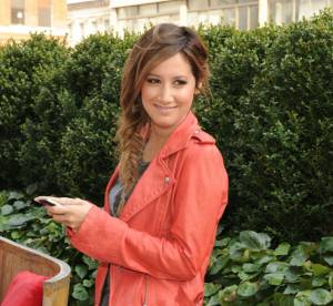 Ashley Tisdale, un look rock et casual... A shopper !