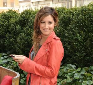 Ashley Tisdale, un look rock et casual... A shopper !