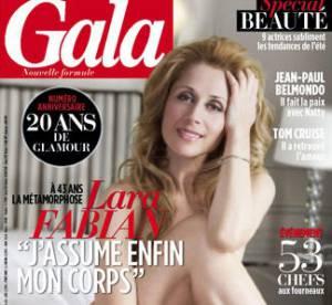 Lara Fabian, Sophie Marceau, Vanessa Paradis : nues sur papier glace
