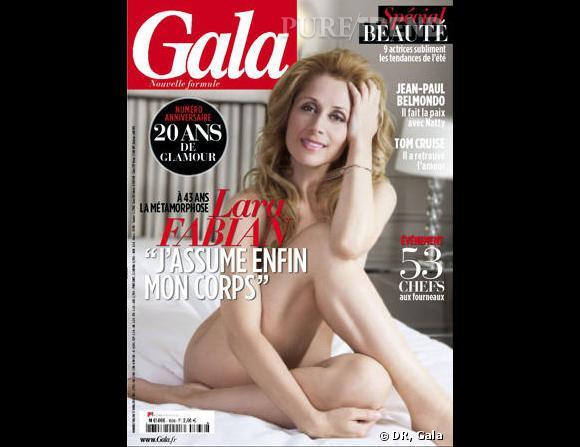 Lara Fabian se dénude pour Gala.