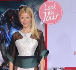 Gwyneth Paltrow : robe transparente et sexy, ebouriffante pour ''Iron Man 3''
