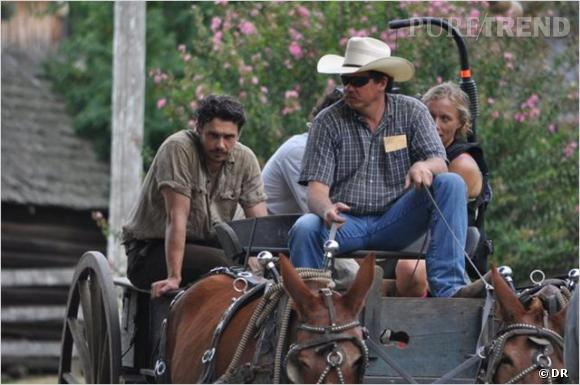 """James Franco et son film """"As I Lay Dying"""" à Cannes pour """"Un certain regard"""" cette année."""