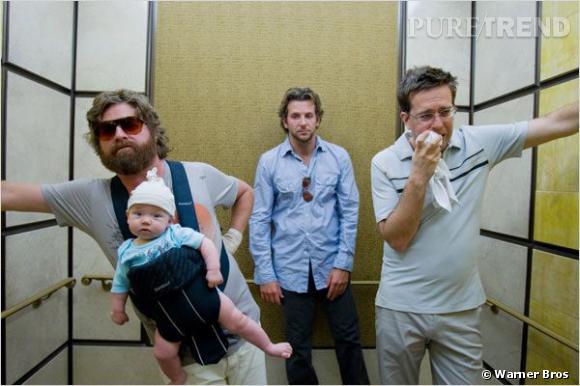 """""""Very Bad Trip"""" : Zach Galifianakis et Bradley Cooper auraient pu ne pas être dans le film."""