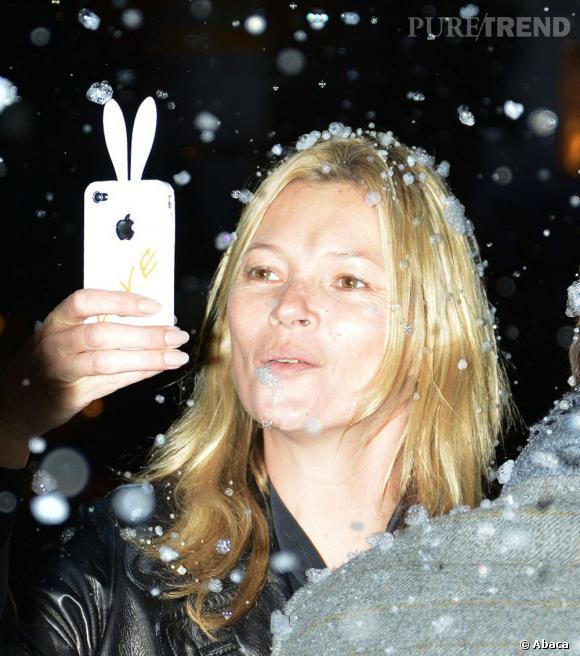 Les mannequins sans maquillage : Kate Moss.