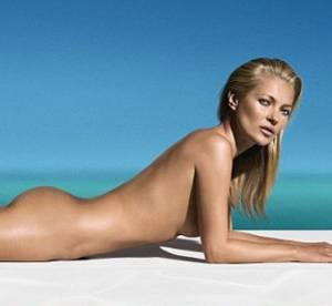Kate Moss : elle pose nue pour les autobronzants St Tropez