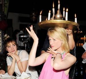 Zoe Kazan et Mamie Gummer au Taj Palace de Marrakech pour la soirée Asmallworld.