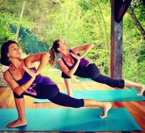 Gisele Bundchen sur Instagram, entre poses de yoga et paysages de reve