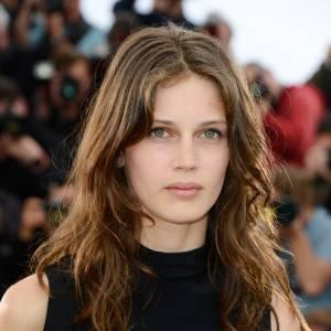 """Marine Vacth, pour la présentation au Festival de Cannes, ce jeudi 16 mai 2013, du film de François Ozon """"Jeune & Jolie"""" où elle interprète le premier rôle."""
